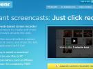 Grabar screencast nunca fue tan fácil como con Screenr