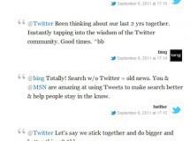 Twitter y Bing renuevan su acuerdo para las búsquedas a tiempo real
