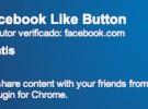 Facebook lanza el botón «Me gusta» para Google Chrome