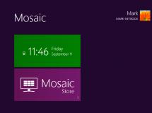 Mosaic Desktop: tema que pretende traer la apariencia de Windows 8 al escritorio