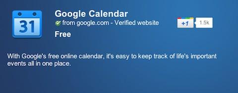 Google Calendar, ya disponible sin conexión