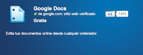 Google Docs ya está disponible sin conexión a la red