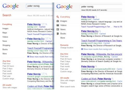 Google cambia la interfaz de las búsquedas