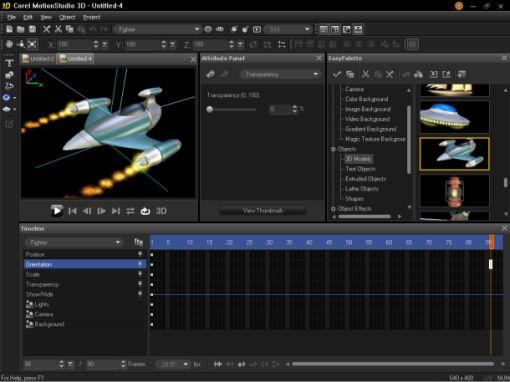 Corel da un paso adelante con MotionStudio 3D