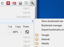 Google Chrome integrará nuevamente los marcadores al menú de herramientas