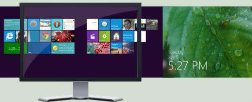 Mosaic Desktop el escritorio de Windows 8 en Windows 7