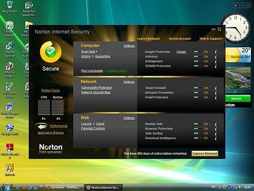El Norton Antivirus se renueva de cara al 2012