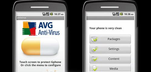 Mantén tu Android libre de virus con AVG Anti-Virus Free