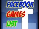 Facebook y diez juegos para probar