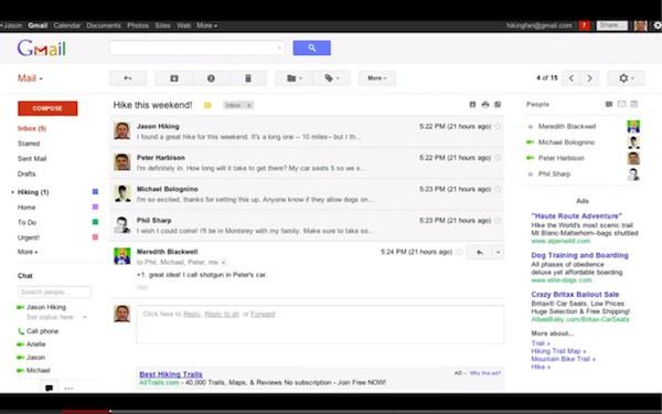 Gmail se prepara para una renovación