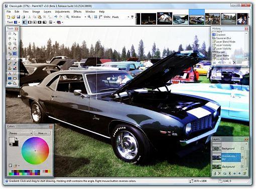El Paint.NET llega a la versión 3.5.9