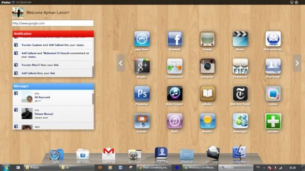 iPadian, o cómo ejecutar aplicaciones para iPad en Windows