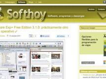 Nuevo diseño en Softhoy