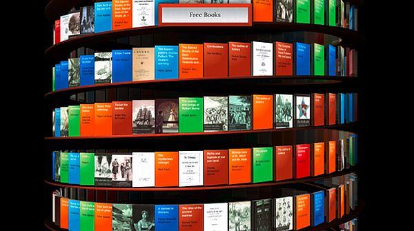 Google, WebGL Bookcase y una biblioteca casi infinita