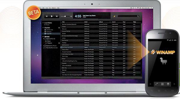 El WinAmp llega a OS X y se renueva para Android