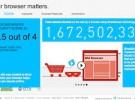 Microsoft lanza una web que advierte de los peligros de tener el navegador desactualizado