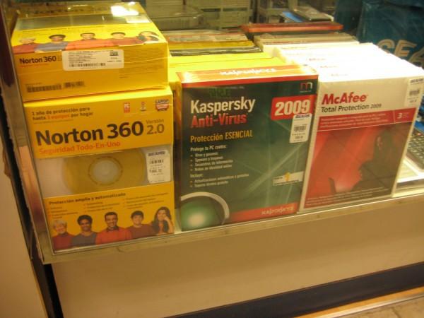 tres antivirus