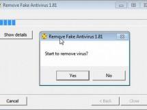 Remove Fake Antivirus: eliminador de falsos antivirus