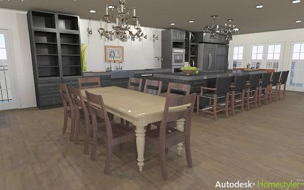 Autodesk Homestyler: un AutoCAD en línea