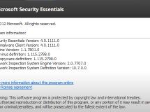 Disponible beta pública de Microsoft Security Essentials 4