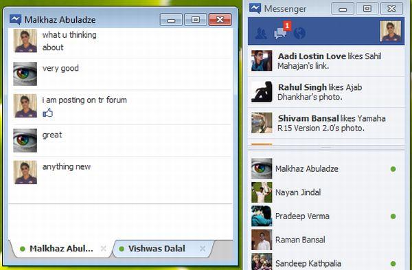 Facebook Messenger ya está disponible para descarga