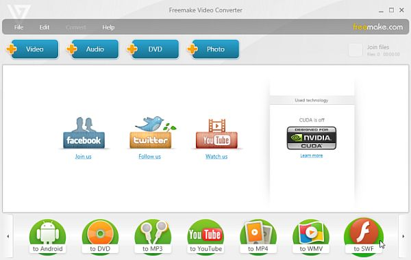 Free Make Video Converter incorpora ahora el paso a vídeos HTML5