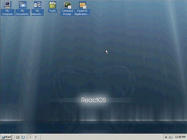 React OS es un buen sistema operativo pero todavía esperamos el arranque bajo USB