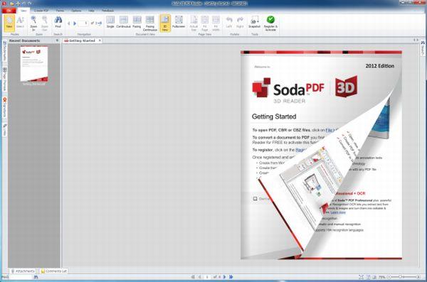 Soda 3D PDF Reader: lee tus archivos PDF en 3D