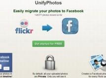 Como pasar fotos directamente de Flickr a Facebook con UnifyPhotos