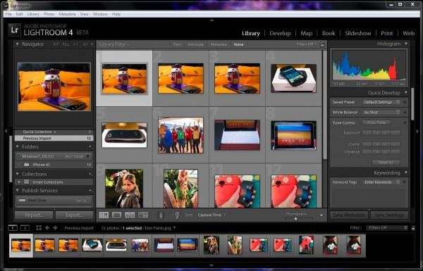 Disponible la primer beta pública de Adobe Photoshop Lightroom 4