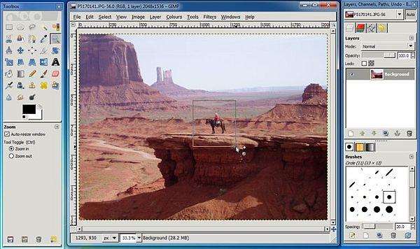 GimpShop: el poder de Photoshop (o casi) dentro de Gimp