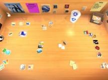Real Desktop: trabaja sobre una mesa en 3D