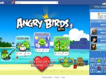 Angry Birds ahora también se puede jugar en Facebook