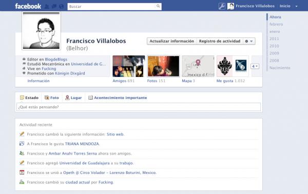 Cómo eliminar la biografía en Facebook