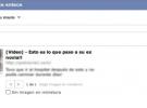 Nuevo fraude en Facebook: se divulga un vídeo en donde tu ex novia es la estrella principal