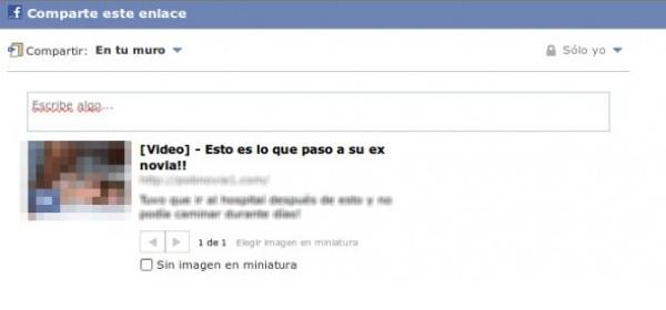 Nuevo fraude en Facebook en donde puedes ver qué ha sido de tu ex novia
