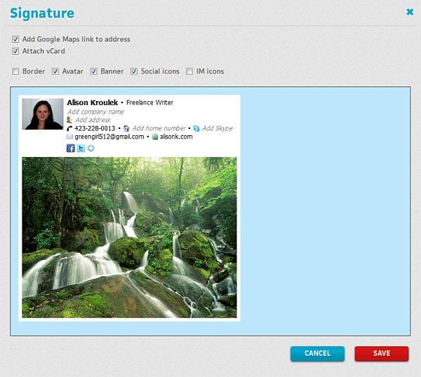 BrandMyMail: integra redes sociales en tus correos de GMail