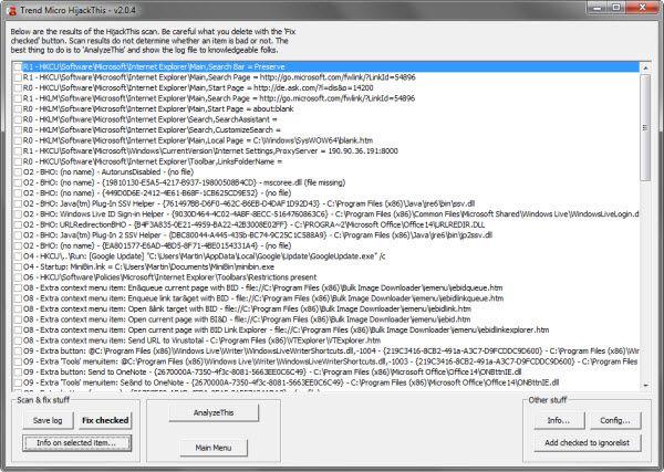 HijackThis ahora es de código abierto
