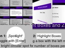 Crea increíbles presentaciones a partir de archivos PDF o imágenes con Impressive