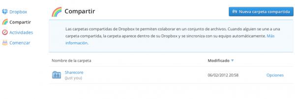 Ahora puedes compartir carpetas de Dropbox con tus amigos de Facebook