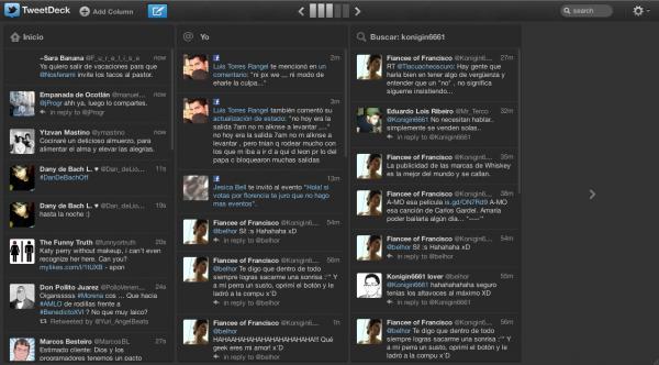 Llega Tweetdeck 1.3 con grandes novedades