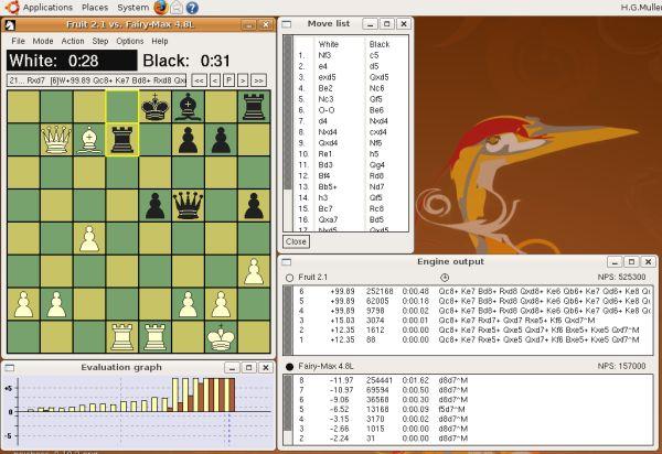 XBoard y Winboard: el GUI para el ajedrez en línea