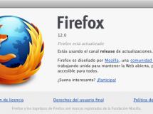 Aparece la versión estable de Firefox 12 en los servidores FTP de Mozilla