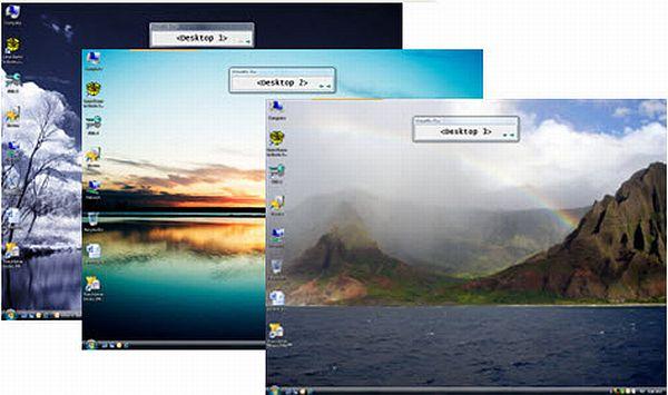 VirtuaWin: hasta 9 espacios de trabajo en pantalla