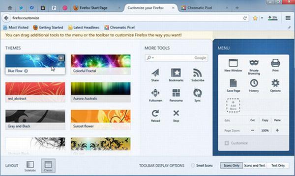 Firefox Australis en desarrollo: algunas imágenes