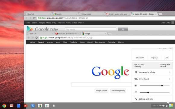 Chrome OS ahora se parecerá más a Windows
