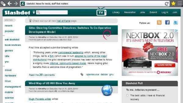 Primeras imágenes de Firefox Metro