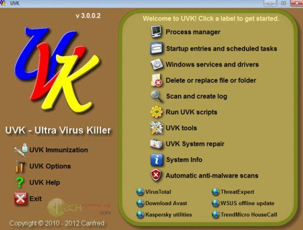 Ultra Virus Killer: como una navaja suiza, de todo un poco