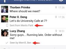 Cuidado: Facebook Messenger ahora revela nuestra ubicación e introduce un sistema de confirmación de lectura