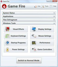 Game Fire es otro booster para juegos en Windows